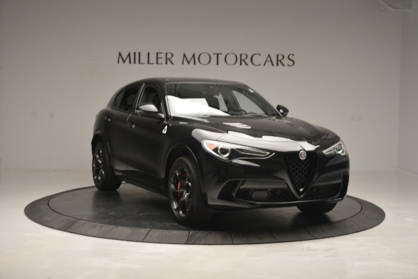 New 2018 Alfa Romeo Stelvio Quadrifoglio for sale Sold at Bugatti of Greenwich in Greenwich CT 06830 11