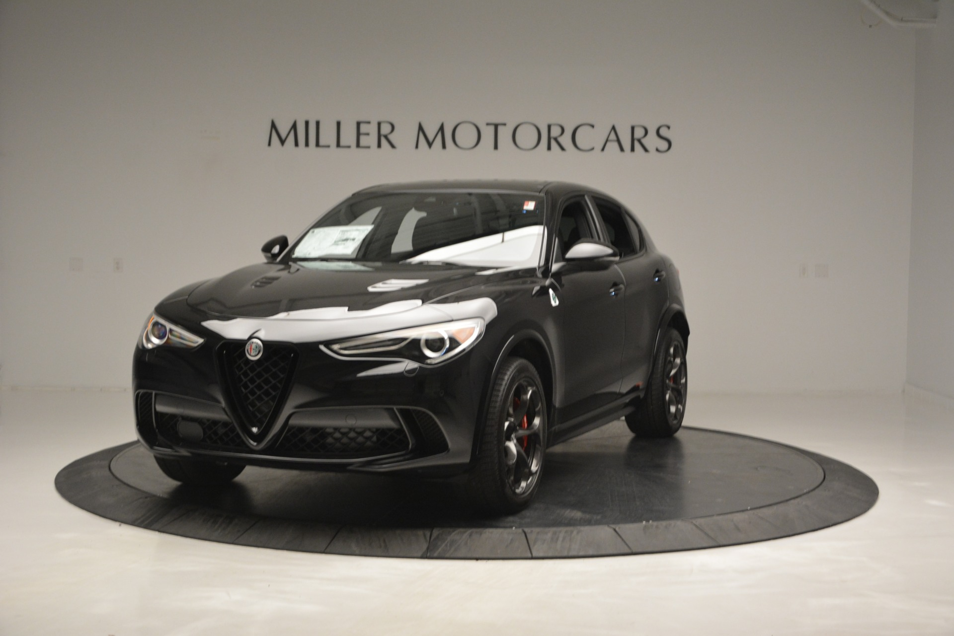 New 2018 Alfa Romeo Stelvio Quadrifoglio for sale Sold at Bugatti of Greenwich in Greenwich CT 06830 1