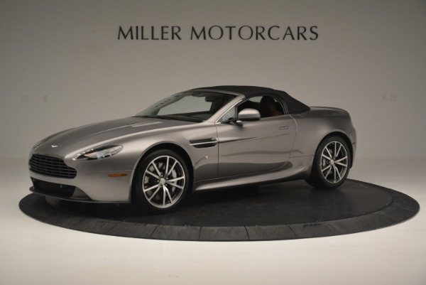 Used 2015 Aston Martin V8 Vantage Roadster for sale Sold at Bugatti of Greenwich in Greenwich CT 06830 14