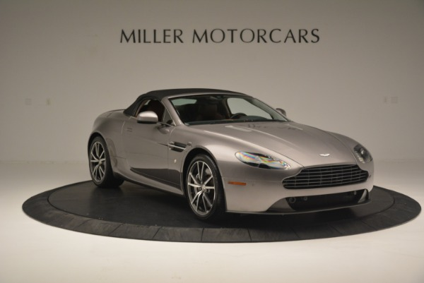 Used 2015 Aston Martin V8 Vantage Roadster for sale Sold at Bugatti of Greenwich in Greenwich CT 06830 18