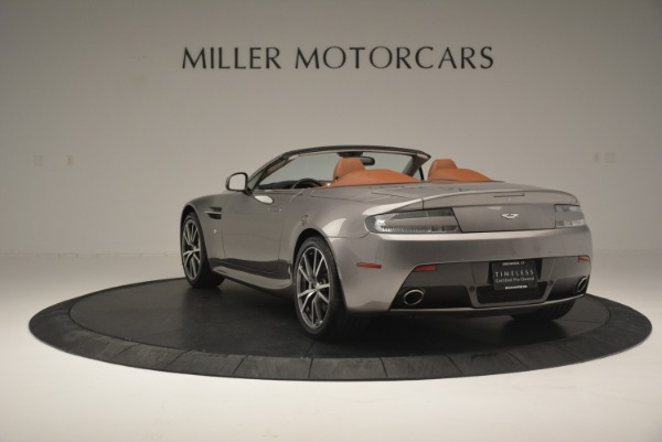 Used 2015 Aston Martin V8 Vantage Roadster for sale Sold at Bugatti of Greenwich in Greenwich CT 06830 5