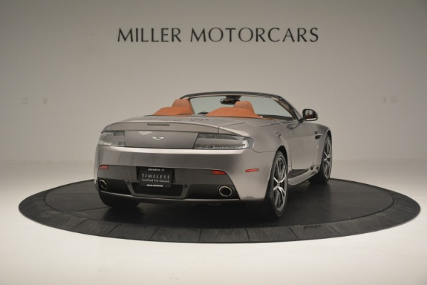 Used 2015 Aston Martin V8 Vantage Roadster for sale Sold at Bugatti of Greenwich in Greenwich CT 06830 7