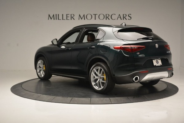 New 2018 Alfa Romeo Stelvio Ti Sport Q4 for sale Sold at Bugatti of Greenwich in Greenwich CT 06830 6