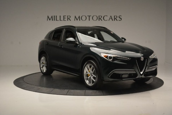 New 2018 Alfa Romeo Stelvio Ti Sport Q4 for sale Sold at Bugatti of Greenwich in Greenwich CT 06830 12