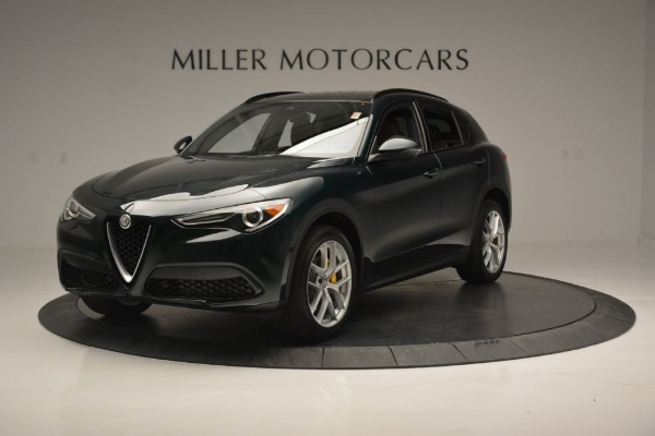 New 2018 Alfa Romeo Stelvio Ti Sport Q4 for sale Sold at Bugatti of Greenwich in Greenwich CT 06830 2