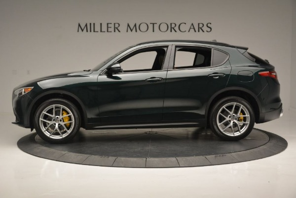 New 2018 Alfa Romeo Stelvio Ti Sport Q4 for sale Sold at Bugatti of Greenwich in Greenwich CT 06830 4