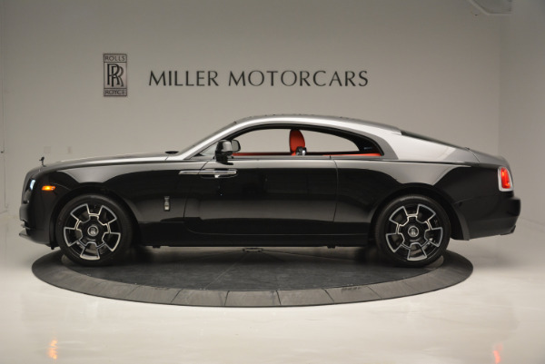 New 2018 Rolls-Royce Wraith Black Badge for sale Sold at Bugatti of Greenwich in Greenwich CT 06830 2