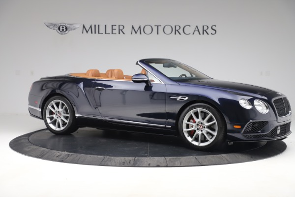 Used 2016 Bentley Continental GTC V8 S for sale Sold at Bugatti of Greenwich in Greenwich CT 06830 10