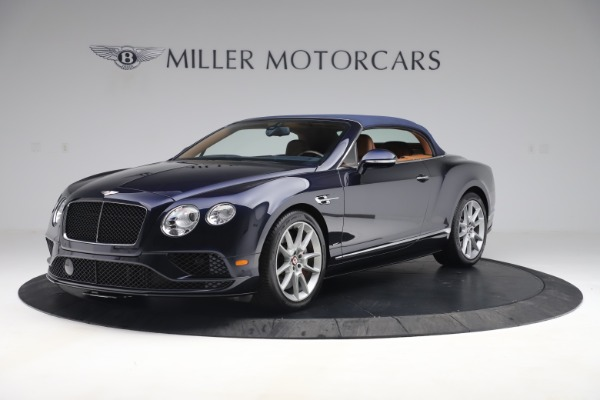 Used 2016 Bentley Continental GTC V8 S for sale Sold at Bugatti of Greenwich in Greenwich CT 06830 13