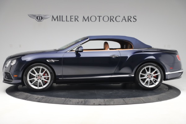Used 2016 Bentley Continental GTC V8 S for sale Sold at Bugatti of Greenwich in Greenwich CT 06830 14