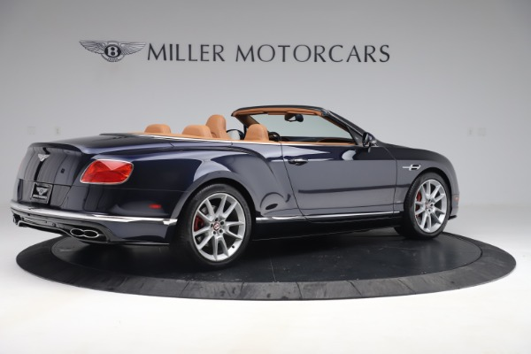 Used 2016 Bentley Continental GTC V8 S for sale Sold at Bugatti of Greenwich in Greenwich CT 06830 9