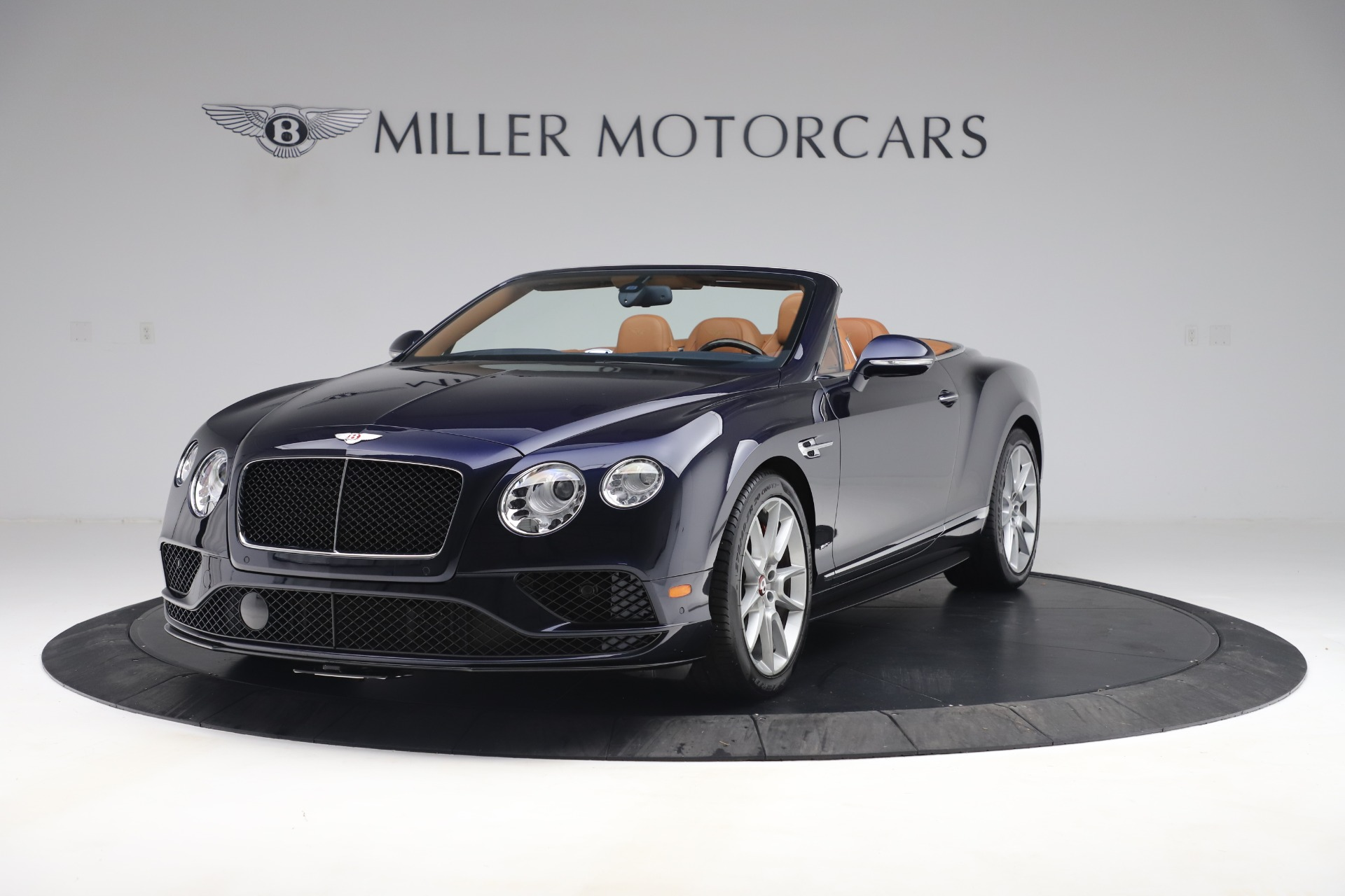 Used 2016 Bentley Continental GTC V8 S for sale Sold at Bugatti of Greenwich in Greenwich CT 06830 1