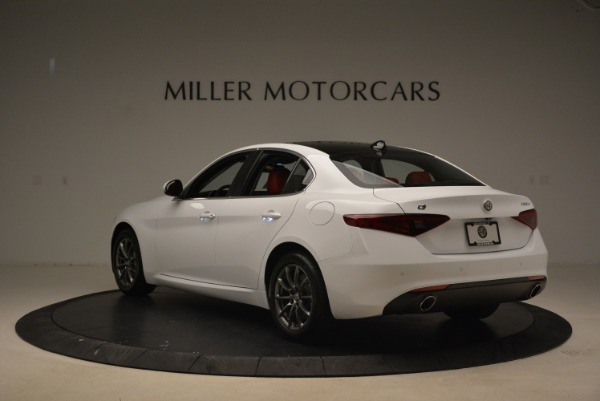 New 2018 Alfa Romeo Giulia Q4 for sale Sold at Bugatti of Greenwich in Greenwich CT 06830 5