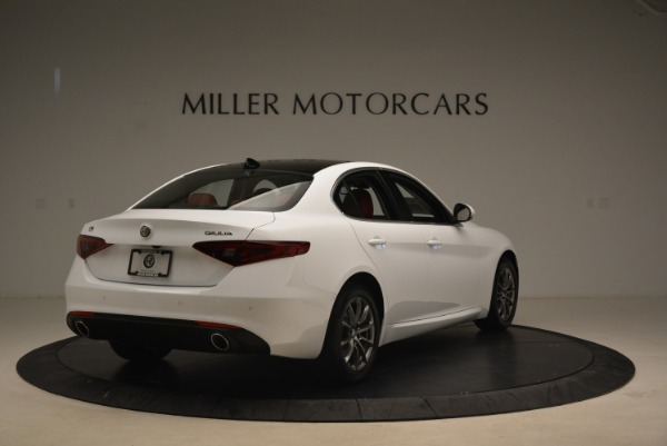 New 2018 Alfa Romeo Giulia Q4 for sale Sold at Bugatti of Greenwich in Greenwich CT 06830 7