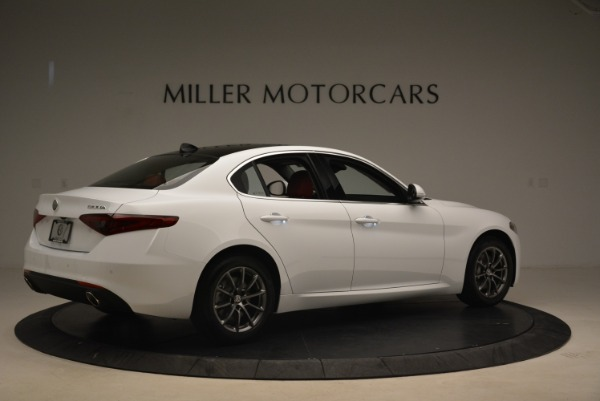 New 2018 Alfa Romeo Giulia Q4 for sale Sold at Bugatti of Greenwich in Greenwich CT 06830 8
