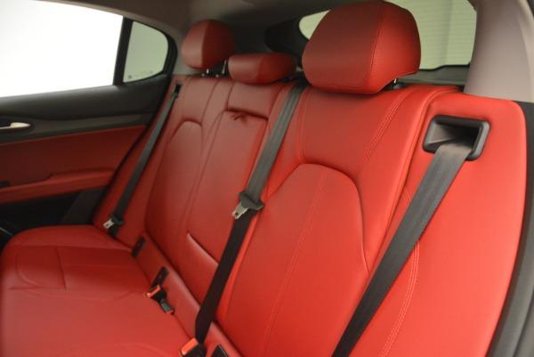 New 2018 Alfa Romeo Stelvio Ti Q4 for sale Sold at Bugatti of Greenwich in Greenwich CT 06830 18