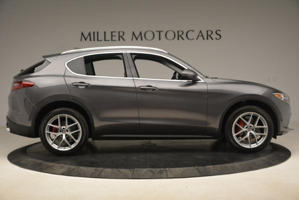 New 2018 Alfa Romeo Stelvio Ti Q4 for sale Sold at Bugatti of Greenwich in Greenwich CT 06830 9