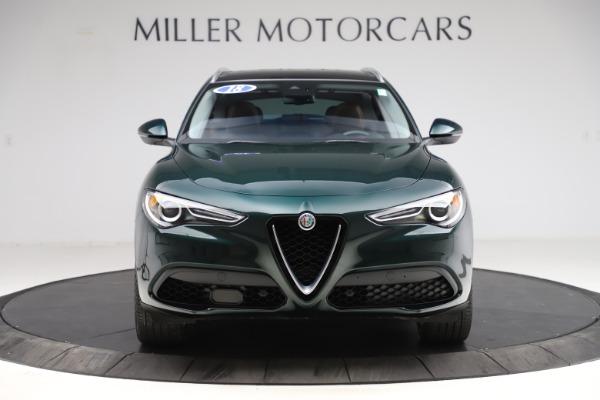 Used 2018 Alfa Romeo Stelvio Ti Q4 for sale $32,900 at Bugatti of Greenwich in Greenwich CT 06830 12