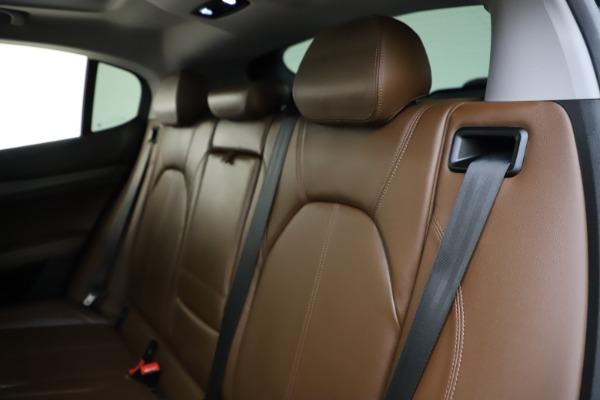 Used 2018 Alfa Romeo Stelvio Ti Q4 for sale $32,900 at Bugatti of Greenwich in Greenwich CT 06830 18