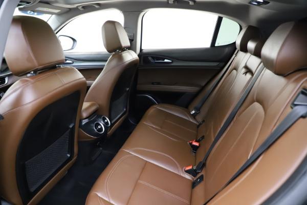 Used 2018 Alfa Romeo Stelvio Ti Q4 for sale $32,900 at Bugatti of Greenwich in Greenwich CT 06830 19