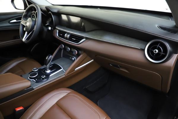 Used 2018 Alfa Romeo Stelvio Ti Q4 for sale $32,900 at Bugatti of Greenwich in Greenwich CT 06830 22