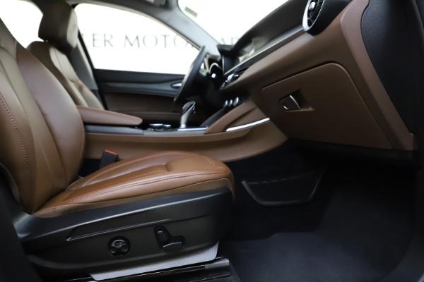 Used 2018 Alfa Romeo Stelvio Ti Q4 for sale $32,900 at Bugatti of Greenwich in Greenwich CT 06830 23
