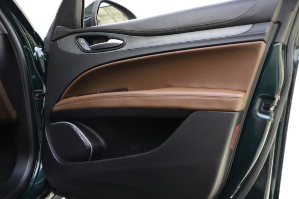 Used 2018 Alfa Romeo Stelvio Ti Q4 for sale $32,900 at Bugatti of Greenwich in Greenwich CT 06830 25