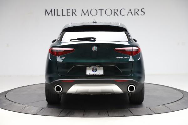 Used 2018 Alfa Romeo Stelvio Ti Q4 for sale $32,900 at Bugatti of Greenwich in Greenwich CT 06830 6