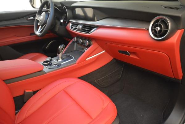 New 2018 Alfa Romeo Stelvio Ti Q4 for sale Sold at Bugatti of Greenwich in Greenwich CT 06830 19