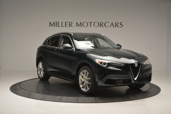 New 2018 Alfa Romeo Stelvio Ti Lusso Q4 for sale Sold at Bugatti of Greenwich in Greenwich CT 06830 12