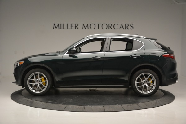New 2018 Alfa Romeo Stelvio Ti Lusso Q4 for sale Sold at Bugatti of Greenwich in Greenwich CT 06830 3
