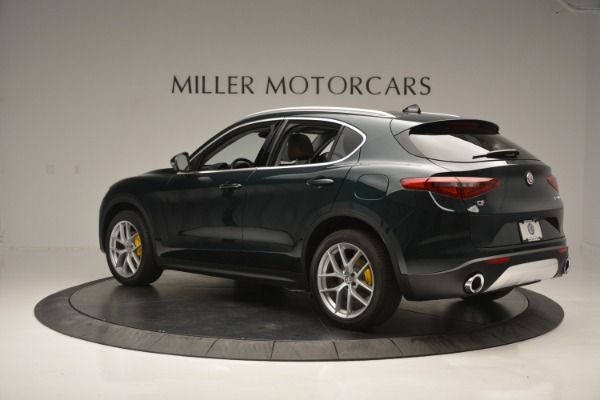 New 2018 Alfa Romeo Stelvio Ti Lusso Q4 for sale Sold at Bugatti of Greenwich in Greenwich CT 06830 4