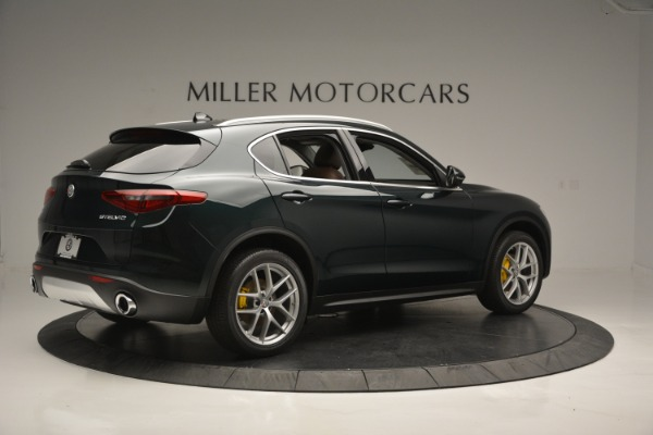 New 2018 Alfa Romeo Stelvio Ti Lusso Q4 for sale Sold at Bugatti of Greenwich in Greenwich CT 06830 9