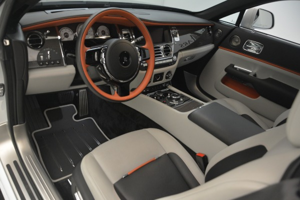 Used 2018 Rolls-Royce Wraith Black Badge Nebula Collection for sale Sold at Bugatti of Greenwich in Greenwich CT 06830 15