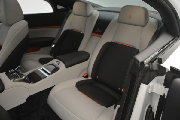 Used 2018 Rolls-Royce Wraith Black Badge Nebula Collection for sale Sold at Bugatti of Greenwich in Greenwich CT 06830 17