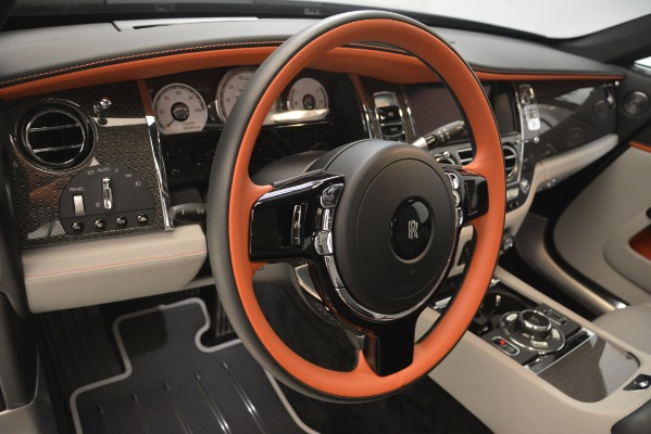 Used 2018 Rolls-Royce Wraith Black Badge Nebula Collection for sale Sold at Bugatti of Greenwich in Greenwich CT 06830 20