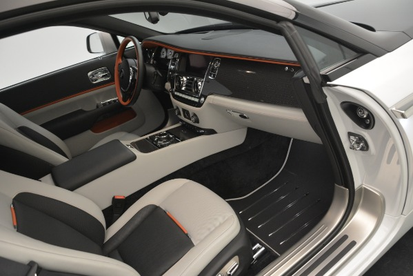 Used 2018 Rolls-Royce Wraith Black Badge Nebula Collection for sale Sold at Bugatti of Greenwich in Greenwich CT 06830 23