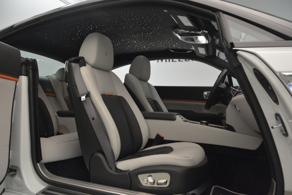 Used 2018 Rolls-Royce Wraith Black Badge Nebula Collection for sale Sold at Bugatti of Greenwich in Greenwich CT 06830 25