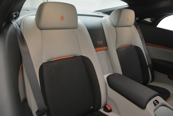 Used 2018 Rolls-Royce Wraith Black Badge Nebula Collection for sale Sold at Bugatti of Greenwich in Greenwich CT 06830 26