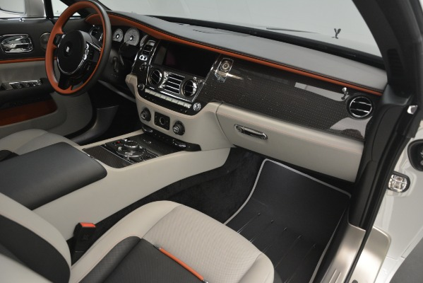 Used 2018 Rolls-Royce Wraith Black Badge Nebula Collection for sale Sold at Bugatti of Greenwich in Greenwich CT 06830 27