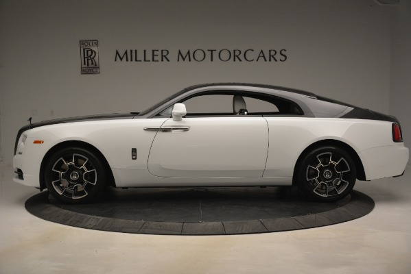 Used 2018 Rolls-Royce Wraith Black Badge Nebula Collection for sale Sold at Bugatti of Greenwich in Greenwich CT 06830 3