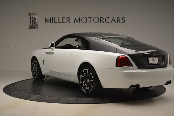 Used 2018 Rolls-Royce Wraith Black Badge Nebula Collection for sale Sold at Bugatti of Greenwich in Greenwich CT 06830 5
