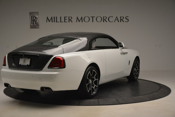 Used 2018 Rolls-Royce Wraith Black Badge Nebula Collection for sale Sold at Bugatti of Greenwich in Greenwich CT 06830 7