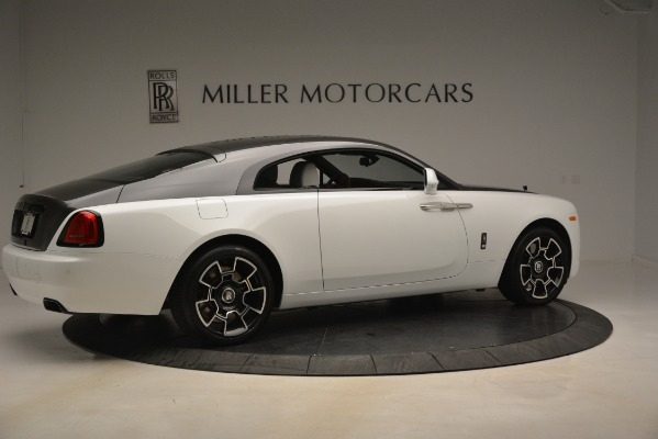 Used 2018 Rolls-Royce Wraith Black Badge Nebula Collection for sale Sold at Bugatti of Greenwich in Greenwich CT 06830 8