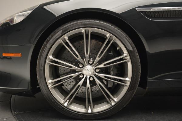 Used 2012 Aston Martin Virage Volante for sale Sold at Bugatti of Greenwich in Greenwich CT 06830 26