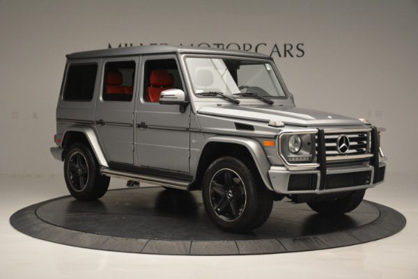 Used 2016 Mercedes-Benz G-Class G 550 for sale Sold at Bugatti of Greenwich in Greenwich CT 06830 10