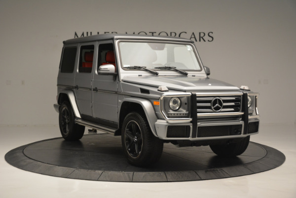 Used 2016 Mercedes-Benz G-Class G 550 for sale Sold at Bugatti of Greenwich in Greenwich CT 06830 11