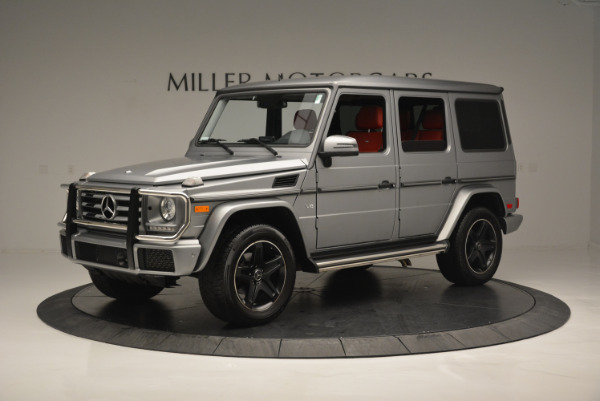 Used 2016 Mercedes-Benz G-Class G 550 for sale Sold at Bugatti of Greenwich in Greenwich CT 06830 2