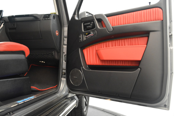 Used 2016 Mercedes-Benz G-Class G 550 for sale Sold at Bugatti of Greenwich in Greenwich CT 06830 25