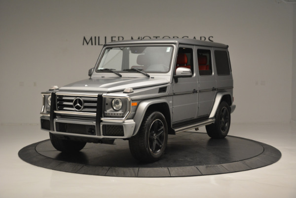 Used 2016 Mercedes-Benz G-Class G 550 for sale Sold at Bugatti of Greenwich in Greenwich CT 06830 1